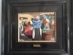 Mousson Tivadar festmény