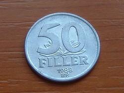 MAGYAR NÉPKÖZTÁRSASÁG 50 FILLÉR 1988