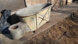 Antik vintage fürdőkád