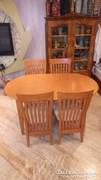 Étkezőgarnitúra székekkel , bővíthető