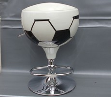 FOOTBALL FAN KULT DESIGN VINTAGE BAR HOCKER RARITET RETRO