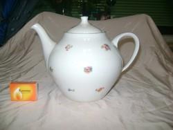 Régi Hollóházi teás kanna, teakiöntő