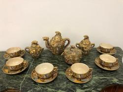 Antik Japán teás készlet