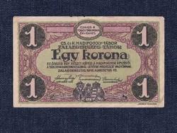CS. és K. Hadifogoly-tábor Zalaegerszeg-tábor 1 Korona bankjegy 1916/id 9878/