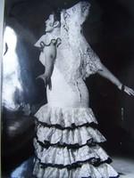 """Alexandrina Milcheva világhírű operaénekes, a """"bolgár Obrazcova"""" aláírt fényképe"""