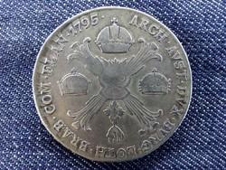 Ausztria II. Ferenc .873 ezüst 1 Tallér 1795 H/id 9387/