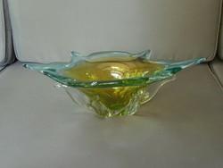 Cseh üveg kínáló