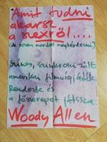 MOKÉP  plakát Woody Allen
