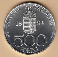 Ezüst 500 Ft Integráció az EU.-ba