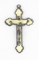0X357 Kisméretű olasz feszület medál 5 cm