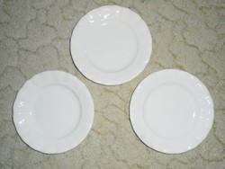 Kis sütis süteményes tányér - GRÁNIT Kispest CS.K.GY - 18.3 cm átmérő - 3 db