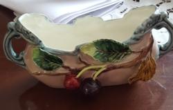 Antik majolika edény