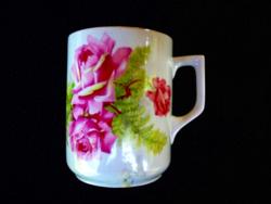 Zsolnay antik rózsás csésze 259.
