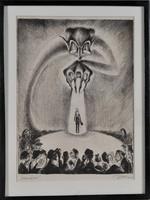 Zilzer Gyula (1898, Budapest.1969, New York): Rémület, Lampenfieber