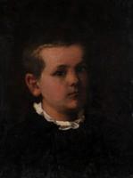Antik kisfiú portré, 19. század