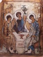 Kézzel festett ikon kép