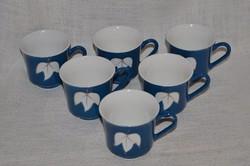 6 db Keleti teás / kávés csésze  ( DBZ 0040 )