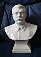 Herendi Sztálin Büszt Mellszobor Porcelán