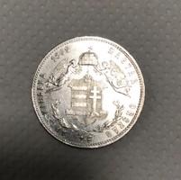 Ferenc József 1869 KB ezüst 1 Forint