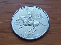 USA 25 CENT 1/4 DOLLÁR 1999 / D DELAWARE #