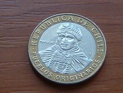 CHILE 100 PESOS 2015 BIMETÁL #