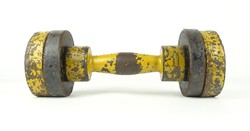 0X524 Régi fém súlyzó 8 kg
