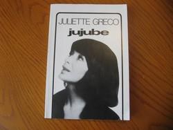 Juliette Greco - Jujube - Önéletrajz