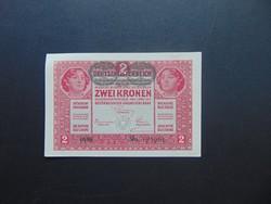 2 korona 1917 Szép bankjegy !  01