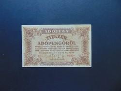 10000 adópengő 1946 sorszámos  01
