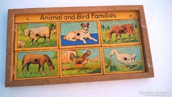 Régi állatos gyerekjáték