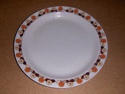 Hollóházi porcelán lapos tányér pótlásra 24 cm (s)