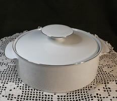 Porcelán  leveses tál  fedővel ,Német