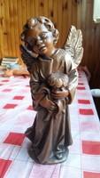 Angyal szobor eladó! Viaszból készült nagyméretű női szobor eladó!