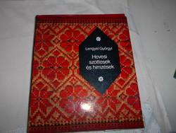 Lengyel Györgyi Hevesi szőttesek és hímzések RITKA kézimunka könyv