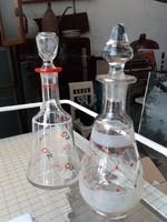 2dbrégi likörös üveg