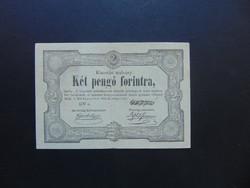 2 pengő 1849 Kossuth bankó !!! Szép ropogós bankjegy