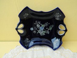 Ilmenau német kobalt kék asztalközép.