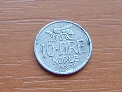 NORVÉGIA 10 ŐRE 1972 MÉH
