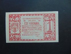 1 korona 1919 Esztergom  01
