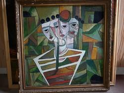 Szabó Zoltán Angyalföldi  festmény eladó