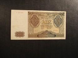 Lengyelország 100 zloty zlotych 1941 Német megszállás!