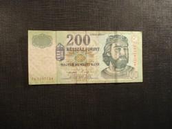 Ropogós 200 forint 2005 FA