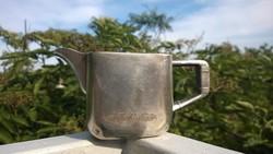 Art deco kávéházi tejkiöntő-kanna díszítve, ezüstözve Ajándékba is 20-as évek