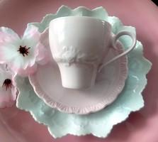 Hutschenreuther-Rosenthal rózsaszín (porcelaine rosé) kávés csészék 2db/ db