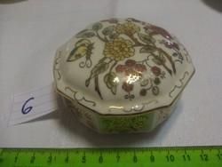 Zsolnay nyolcszögletű bonbonier