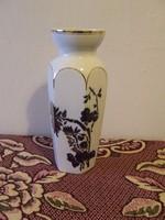 Nagy Hollóházi porcelán váza,padlóváza
