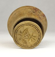0U958 Antik fa sütipecsét sütinyomó