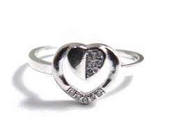 Ezüst női köves gyűrű (D25-Ag81081)