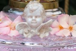 Porcelán   angyal