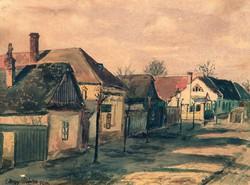 Nagy Márton (1902-1990): Komáromi utca